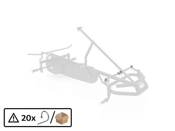 BERG Ersatzteil Sicherungsclip Set Spurstangen (20x)