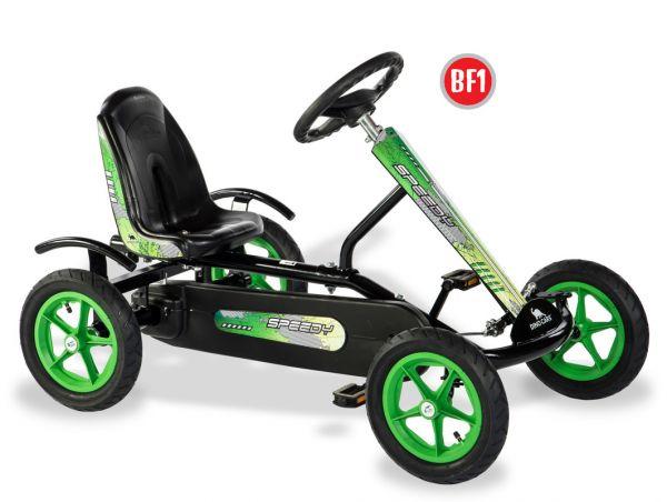 DINO CARS Gokart Speedy BF1 schwarz/grün