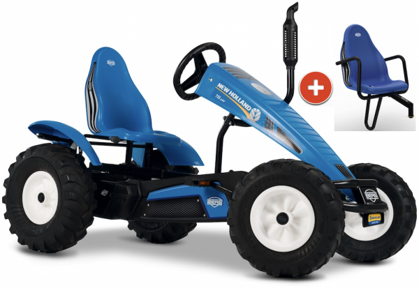 BERG Gokart Traxx New Holland XL BFR-3 inkl. Soziussitz New Holland