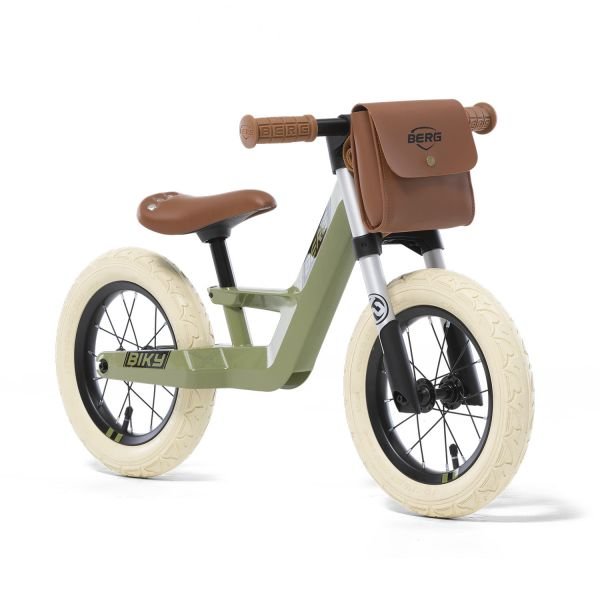 BERG Laufrad Biky Retro Green