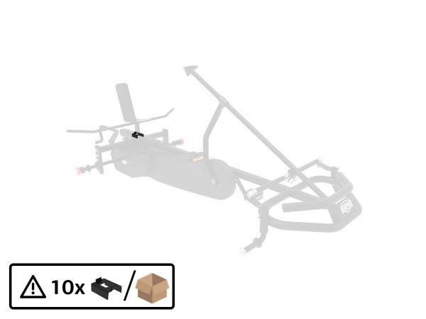 BERG Ersatzteil Kunststoffeinsatz U-Förmig für Sitzrahmen (10x)