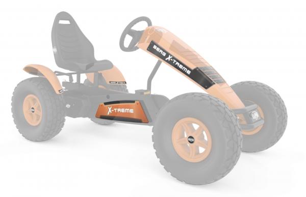 BERG Ersatzteil Sticker-Set XL Rahmen - Aufkleber X-Treme