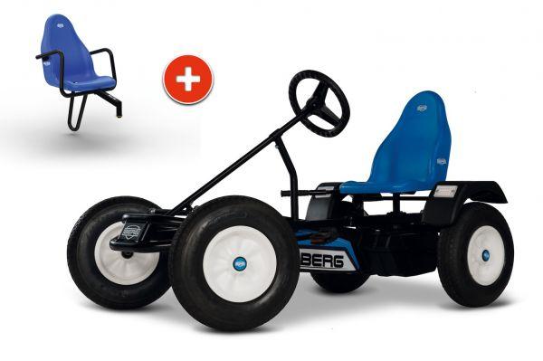 BERG Gokart Extra Blue BFR inkl. Soziussitz Basic/Extra