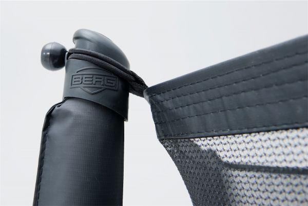 BERG Ersatzteil Sicherheitsnetz Comfort - Abdeckkappen für oberes Rohr (8x)